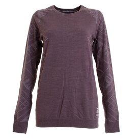 オドロ(ODLO) SUW TOP クルーネック長袖Tシャツ 110711-30490 (Lady's)