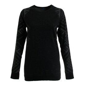 オドロ(ODLO) SUW TOP クルーネック長袖Tシャツ 110711-60008 (Lady's)