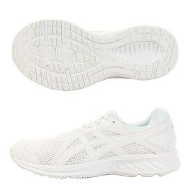 アシックス(ASICS) スニーカー ジョルト2 1011A206.100 白 ホワイトシューズ 通学靴 運動靴 ジョギングシューズ ランニングシューズ 真白 (メンズ)