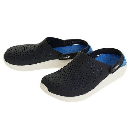 クロックス(crocs) ライトライド クロッグ(LiteRide Clog) Nvy #204592-462 (Men's、Lady's)