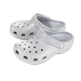 クロックス(crocs) ジュニア クラシック グリッター クロッグ SL 205441-040 (Jr)