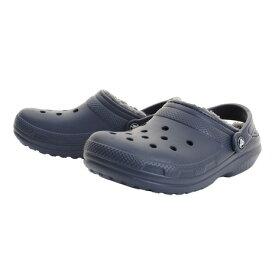クロックス(crocs) サンダル クラシック ラインド クロッグ (Classic Fuzz-Lined Clog) Nvy 203591-459-2018 オンライン価格 (メンズ)