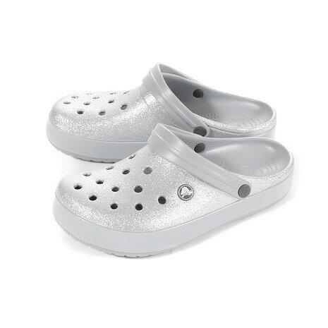 クロックス(crocs) クロックバンド グリッター クロッグ SL 205419-040 (Men's、Lady's)