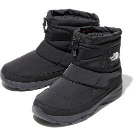 ノースフェイス(THE NORTH FACE) ブーツ ヌプシブーティー ウォータープルーフ ロゴ ショート NF52076 K カジュアルシューズ (メンズ、レディース)