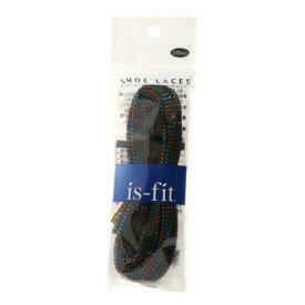 イズフィット(is-fit) シューレース 120cm RH19 ラメレインボー (メンズ、レディース、キッズ)
