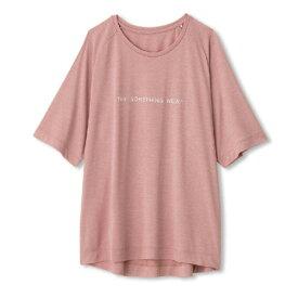 ダンスキン(DANSKIN) Tシャツ レディース 半袖 ヘザー ラグラン DC70106 PL オンライン価格 (Lady's)