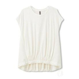 ダンスキン(DANSKIN) サイドパネル フレンチスリーブTシャツ DC70111 JW オンライン価格 (Lady's)