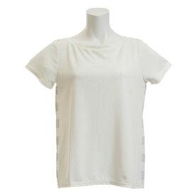 ダンスキン(DANSKIN) Tシャツ レディース 半袖 SO COOL ワイドネック DB78217 JW オンライン価格 (Lady's)