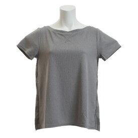 ダンスキン(DANSKIN) Tシャツ レディース 半袖 SO COOL ワイドネック DB78217 Z オンライン価格 (Lady's)