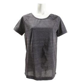 【8月11日までエントリーででP5倍~】アンダーアーマー(UNDER ARMOUR) Tシャツ レディース 半袖 スレッドボーン シームレススペースダイ 1323479 BLK/CHC/MSV AT オンライン価格 (Lady's)