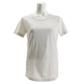 【8月11日までエントリーででP5倍~】アンダーアーマー(UNDER ARMOUR) Tシャツ レディース 半袖 スレッドボーン シームレススペースダイ 1323479 WHT/GSG/MSV AT オンライン価格 (Lady's)