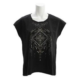 ダンスキン(DANSKIN) 【ポイント15倍!】【多少の傷汚れありの為大奉仕】ワイド Tシャツ DY77303 K オンライン価格 (Lady's)