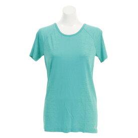 【8月11日までエントリーででP5倍~】アンダーアーマー(UNDER ARMOUR) Tシャツ レディース 半袖 スレッドボーン シームレス 1318042 MCT/GTP/MSV AT オンライン価格 (Lady's)