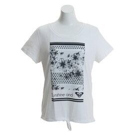 3/30日限定!要エントリーでポイント10倍〜! ロキシー(ROXY) 【オンライン限定特価】SUNSHINE 半袖Tシャツ RST181513WBB0 (Lady's)
