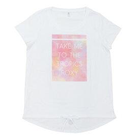 3/30日限定!要エントリーでポイント10倍〜! ロキシー(ROXY) 【オンライン限定特価】速乾 UVカット ロングテール Tシャツ TAKE ME TO THE TROPICS 19SPRST191535WBB0 (Lady's)