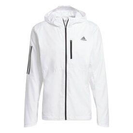 アディダス(adidas) オウン ザ ラン フード付き ウインドジャケット FYR45-GJ9948 (メンズ)