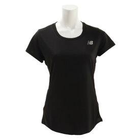 4/1限定!エントリー&楽天カード決済でポイント12倍〜! ニューバランス(new balance) 【オンライン限定特価】アクセレレイト半袖Tシャツ AWT73128BK (Lady's)