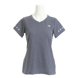 ニューバランス(new balance) Day or Night ショートスリーブTシャツ JWTR7503VTI (Lady's)