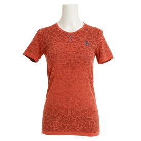 3/30日限定!要エントリーでポイント10倍〜! オドロ(ODLO) BL クルーネック 半袖Tシャツ BLACKCOM 312391 dubarry-fiery coral (Lady's)