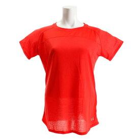 【7月10日限定 エントリー&楽天カード決済でP10倍〜】アンダーアーマー(UNDER ARMOUR) Tシャツ レディース 半袖 スレッドボーン ショートスリーブクルーネック 1319943 RDR/RLT RN オンライン価格 (Lady's)