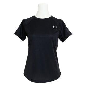 アンダーアーマー(UNDER ARMOUR) Tシャツ レディース 半袖 スピードストライド ショートスリーブ 1326462 BLK/BLK/RLT AT オンライン価格 (Lady's)