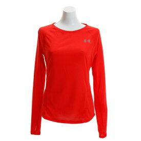 アンダーアーマー(UNDER ARMOUR) Tシャツ レディース 長袖 スレッドボーンストリーカー 1317287 RDR/RDR/RLT RN (Lady's)