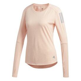 アディダス(adidas) Tシャツ レディース 長袖 オウン ザ ラン FRQ09-DZ2261 (Lady's)