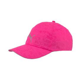 【20%OFFクーポンあり 10/24迄】プーマ(PUMA) ランニングキャップ III 052911 45 PNK 帽子 (レディース)