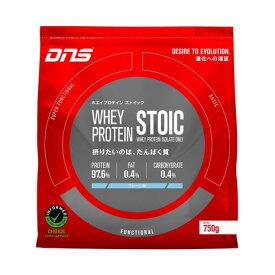 ディーエヌエス(DNS) ホエイプロテイン ストイック プレーン味 750g (メンズ、レディース)