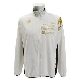 デサント(DESCENTE) 【ゼビオグループ限定】 クロストレーニング布帛ジャケット DOR-C8757 WHT (Men's)