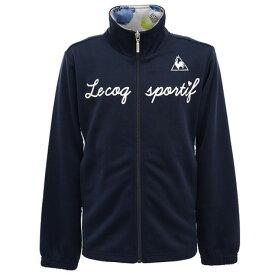 ルコック スポルティフ(Lecoq Sportif) ウォームアップジャケット QMJOJF10 NVY (キッズ)