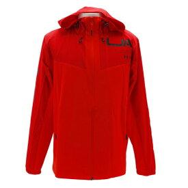 アンダーアーマー(UNDER ARMOUR) ストレッチウーブン フルジップシャツ 2.0 #1328342 RED/RDR/BLK AT (Men's)