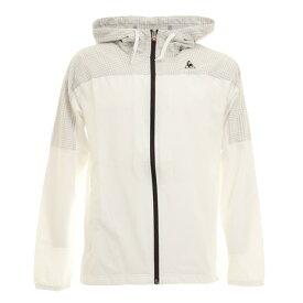 ルコック スポルティフ(Lecoq Sportif) ウインドジャケット QMMOJK00 WHT スポーツウェア (メンズ)