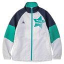 ルコック スポルティフ(Lecoq Sportif) ウィンドジャケット QMJQJF30 SWG スポーツウェア オンライン価格 (キッズ)