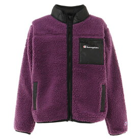 チャンピオン(CHAMPION) ジュニア ボアフルジップスタンドジャケット CS6712 PRL スポーツウェア ボアフリース アウター オンライン価格 (キッズ)