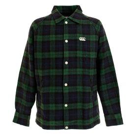 カンタベリー(canterbury) マドラスチェック シャツジャケット RA49567 29 (Men's)