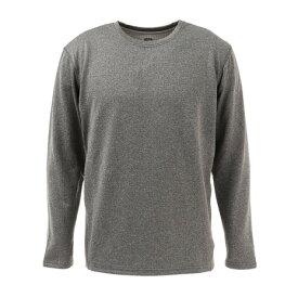 ピージー(PG) GRID WARM GEAR クルーネックシャツ 860PG0JY4137 GRY (メンズ)