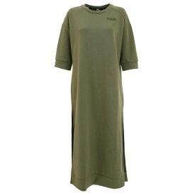 プーマ(PUMA) FUSION スウェット ドレス 583727 02 OLV (レディース)