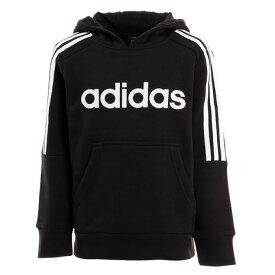 アディダス(adidas) ボーイズ CORE 3S スウェットフーディー 裏起毛 GER54-EI7971 オンライン価格 (キッズ)