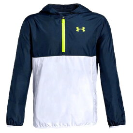 アンダーアーマー(UNDER ARMOUR) Sack Pack 1/2 Zip Jacket 1329016 ADY/HVY AT オンライン価格 (Jr)