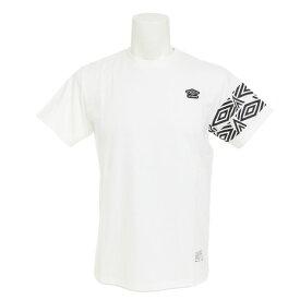 アンブロ(UMBRO) コットン ショートスリーブシャツ ULULJA53XB WHT (Men's)