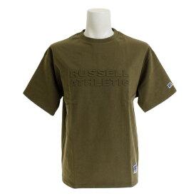 ラッセル(RUSSELL) 【オンライン特価】 PRO BIG TEE EMBOS 半袖Tシャツ RBM19S0001 KHK (Men's)