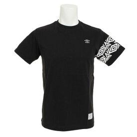 アンブロ(UMBRO) コットン ショートスリーブシャツ ULULJA53XB BLK (Men's)