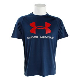 アンダーアーマー(UNDER ARMOUR) テックビッグロゴ 半袖Tシャツ #1348557 ADY/RED AT (Men's)