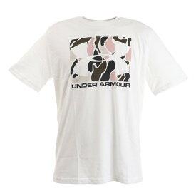アンダーアーマー(UNDER ARMOUR) ボックス スポーツスタイル カモ フィル 半袖Tシャツ 1351616 WHT/BLK AT オンライン価格 (メンズ)