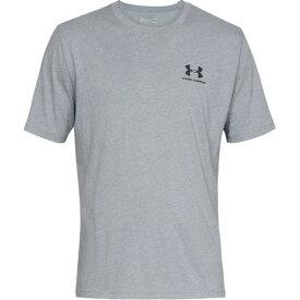 アンダーアーマー(UNDER ARMOUR) メンズ SPORTSTYLE LEFT CHEST S/S Tシャツ 1358554 SLE/BLK AT 半袖 オンライン価格 (メンズ)