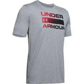 アンダーアーマー(UNDER ARMOUR) Tシャツ 半袖 メンズ TEAM ISSUE ワードマーク 1358570 SLE/BLK AT オンライン価格 (メンズ)