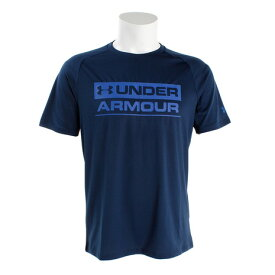 アンダーアーマー(UNDER ARMOUR) 【オンライン特価】 TcStkdWm半袖Tシャツ #1348560 ADY/RYL AT (Men's)