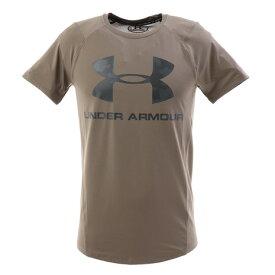アンダーアーマー(UNDER ARMOUR) メンズ MK1ビッグロゴ 半袖Tシャツ 1348561 SLB/PCG AT オンライン価格 (メンズ)