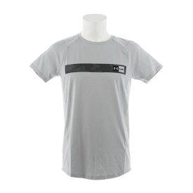 アンダーアーマー(UNDER ARMOUR) Tシャツ メンズ MK1バーロゴ 半袖Tシャツ 1348563 MGA/PCG AT オンライン価格 (Men's)